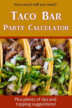 Pinterest Taco Bar Calculator